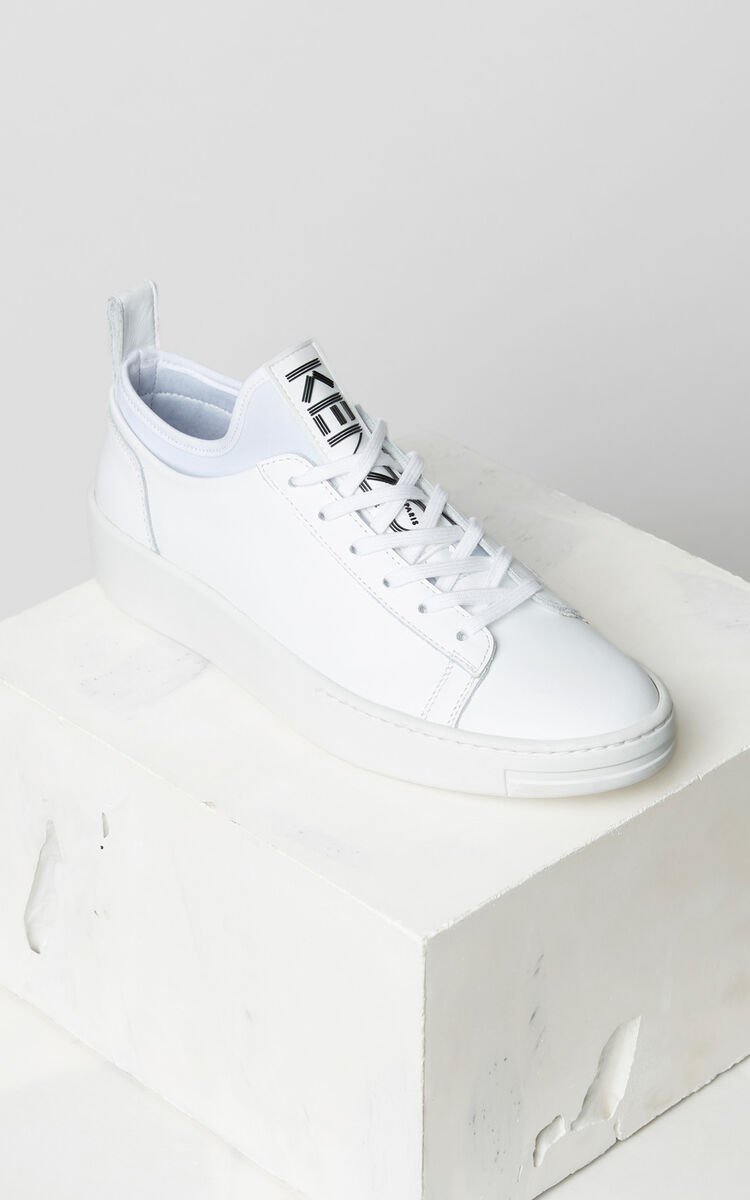 WHITE K-City Sneakers for unisex KENZO