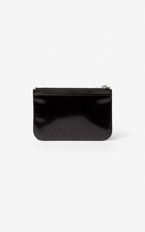 7f2c1a49 small leather goods. BLACK A5 Tiger clutch for unisex KENZO BLACK A5 Tiger  clutch for unisex KENZO