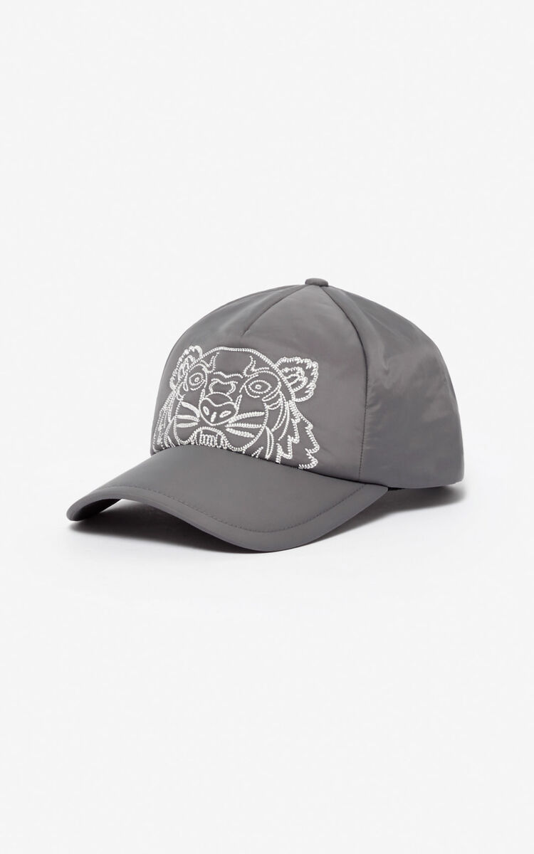ANTHRACITE 'Capsule Expedition' Tiger cap for women KENZO