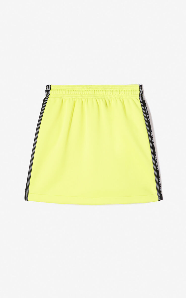 LEMON Kenzo Logo skirt for women