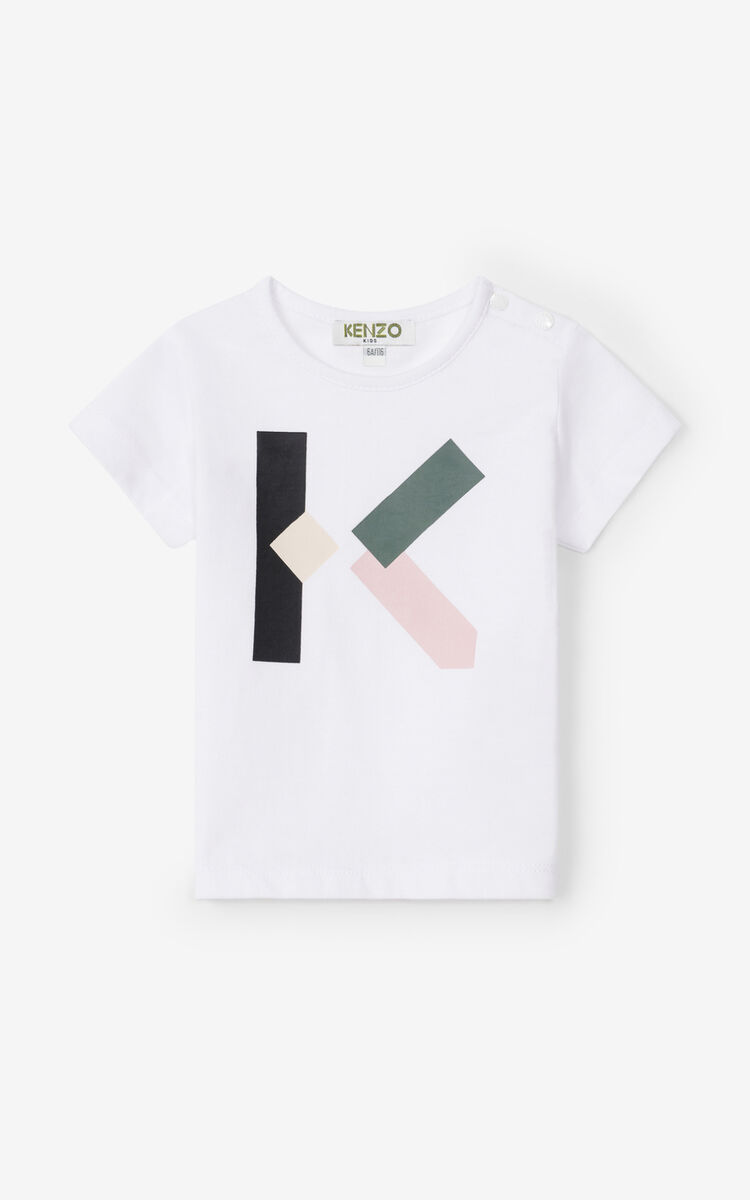 OFF WHITE T-shirt and shorts set for men KENZO