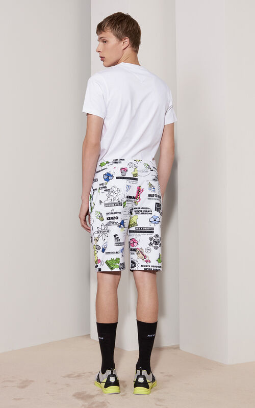 Come Out  T-shirt, WHITE, KENZO