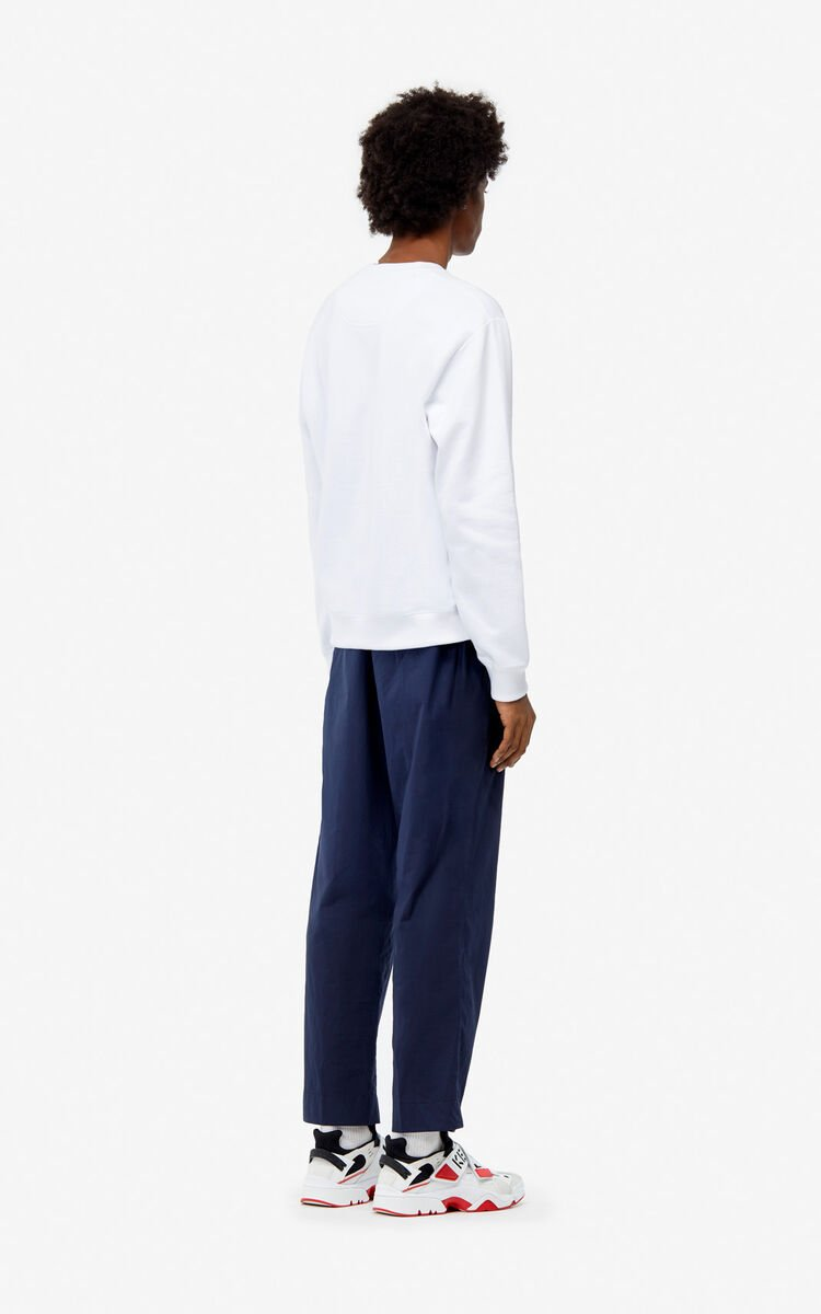 MIDNIGHT BLUE Cargo trousers for men KENZO