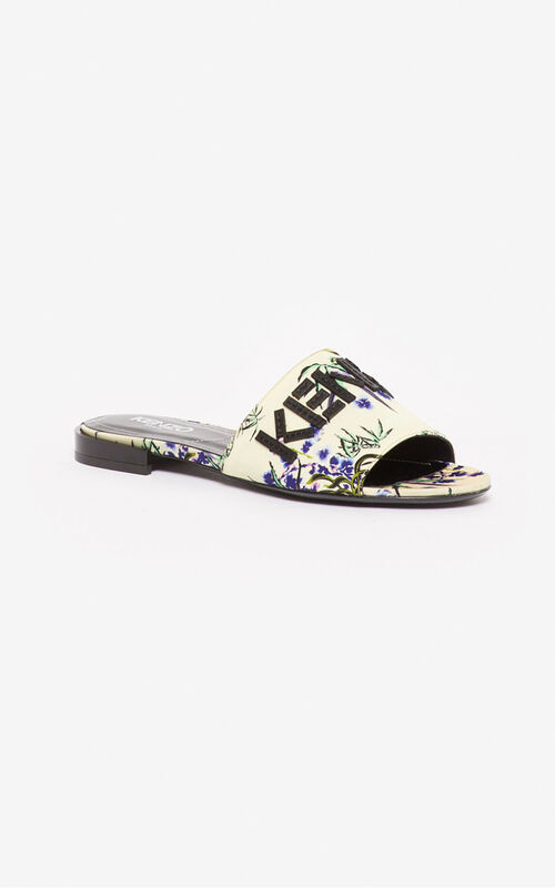 ECRU Kruise 'Sea Lily' mules for women KENZO