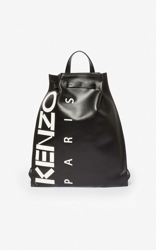 BLACK Kontrast backpack for unisex KENZO