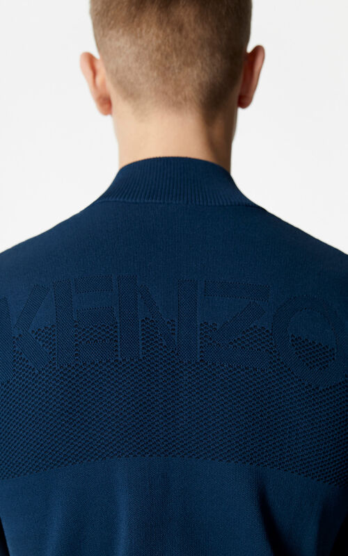 PINE Knitted zipped cardigan for men KENZO