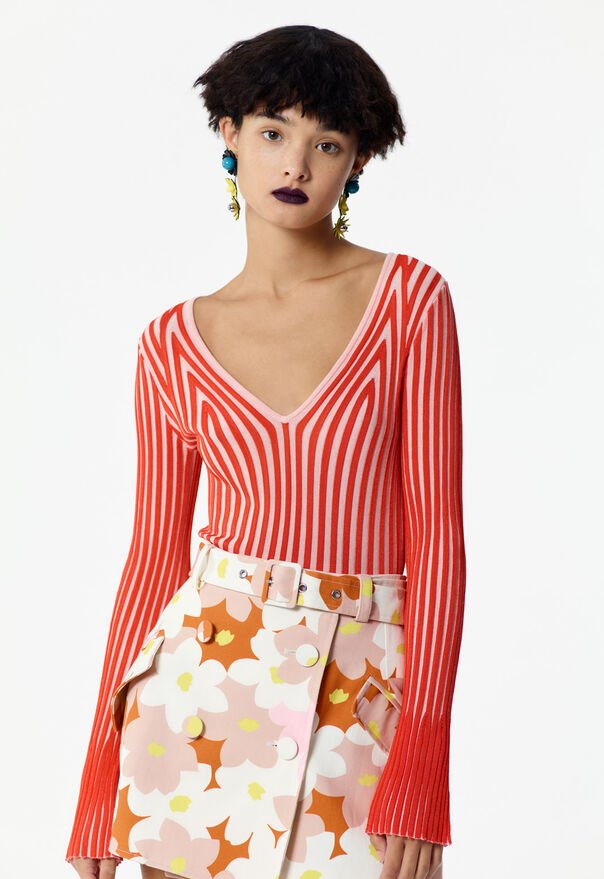 FLAMINGO PINK Pleated top for women KENZO