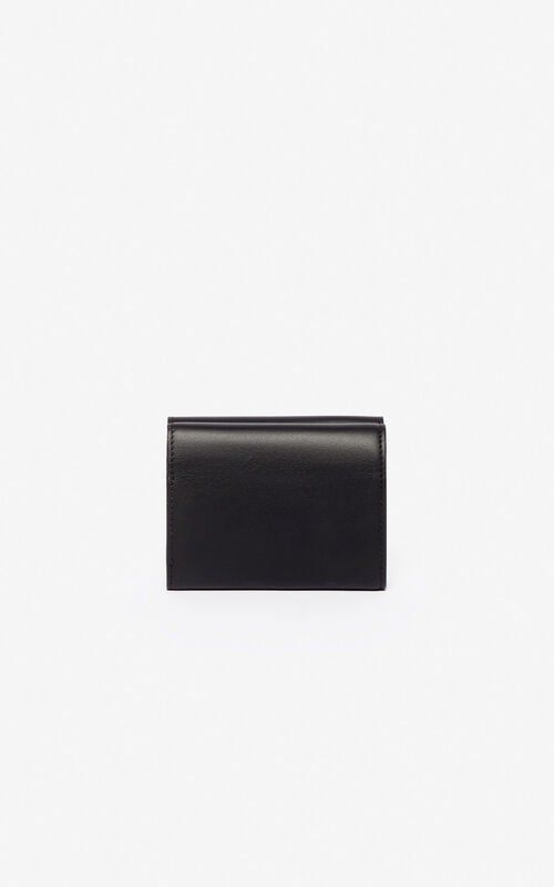 BLACK K-Bag coin purse for unisex KENZO