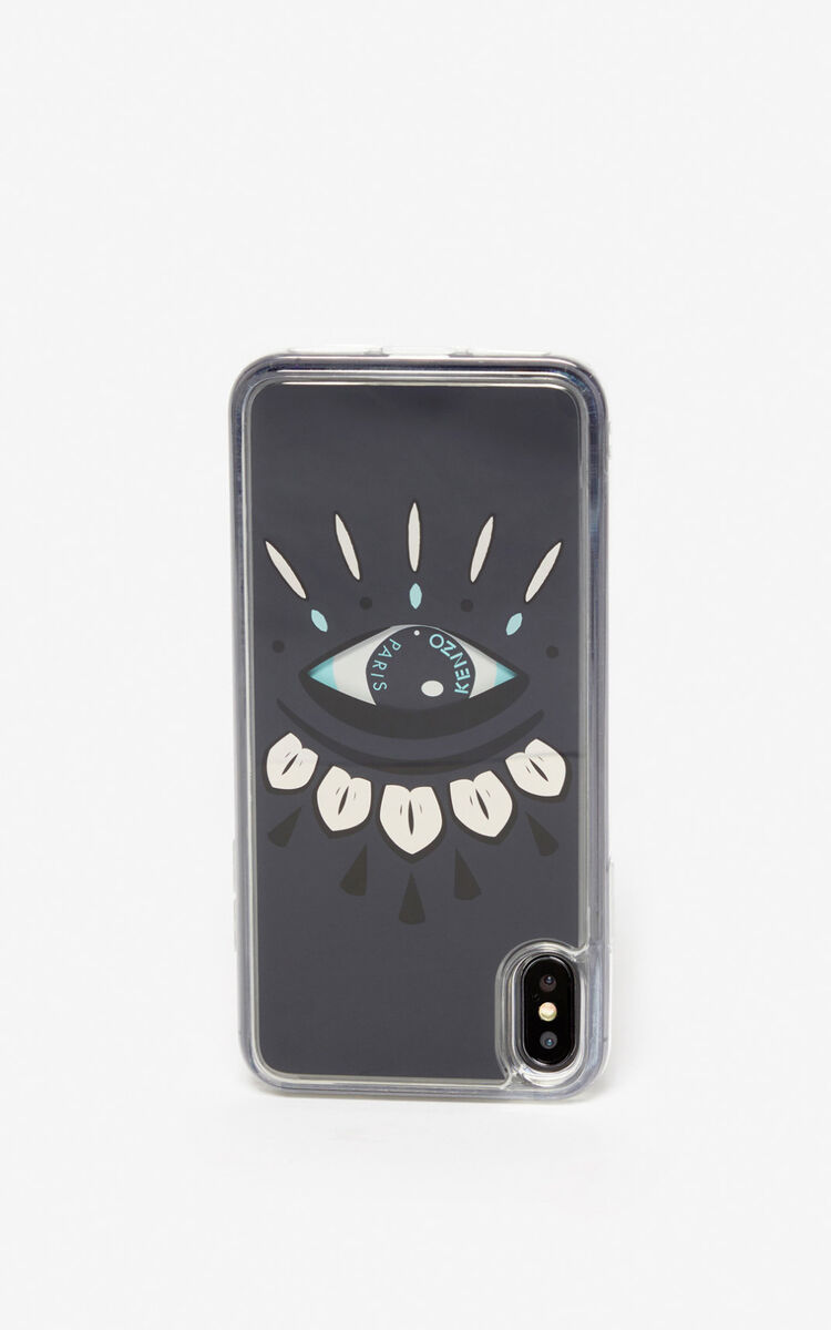 STONE GREY iPhone XS Max Case for men KENZO