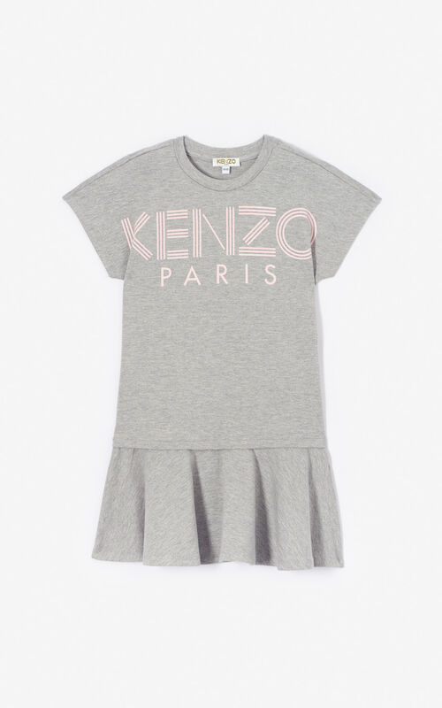 0a30a37b7 Tiger T-shirt. $60. Girl · MIDDLE GREY Kenzo logo dress for men ...