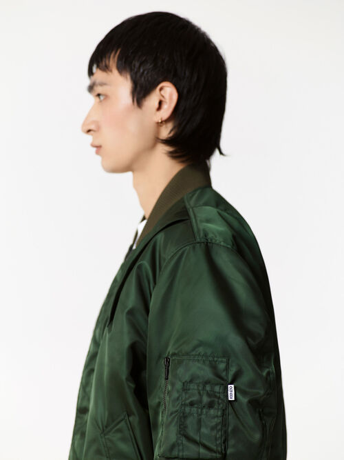DARK KHAKI Bomber jacket for men KENZO