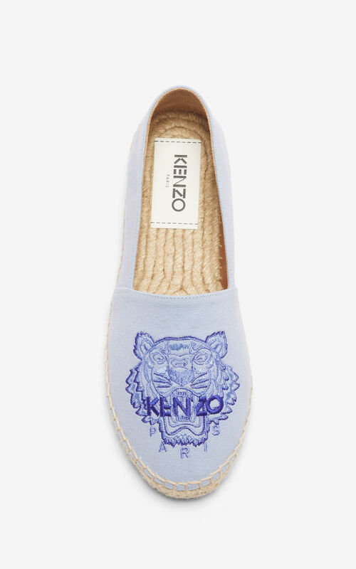 LAVENDER 'High Summer Capsule Collection' Tiger espadrilles for unisex KENZO