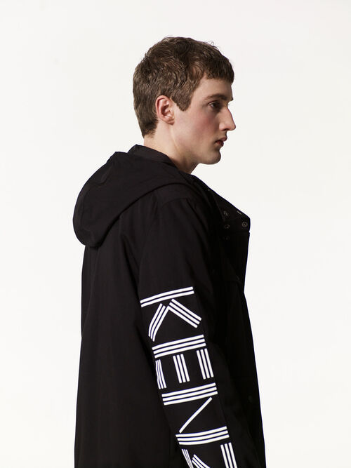 BLACK KENZO  Parka for men