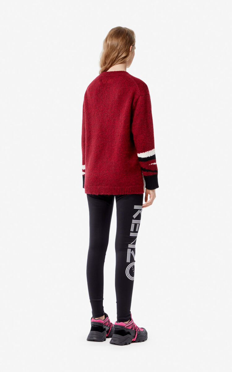 BORDEAUX 'Tiger Head' jumper for women KENZO