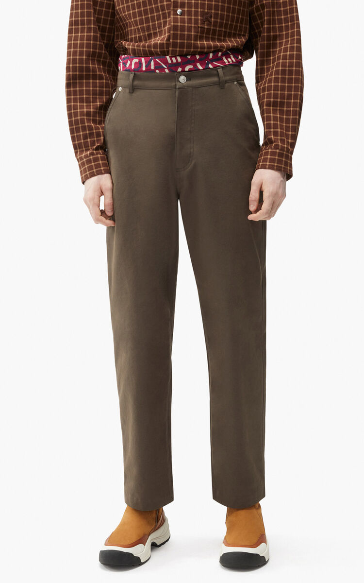 BRONZE Straight-fit trousers for men KENZO