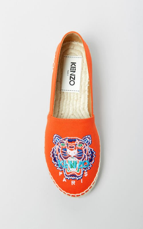 MEDIUM RED Tiger espadrilles for women KENZO