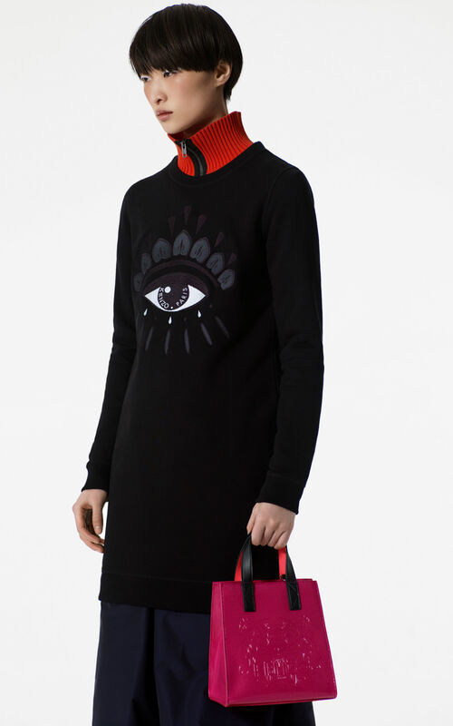BLACK Eye sweatshirt dress for women KENZO