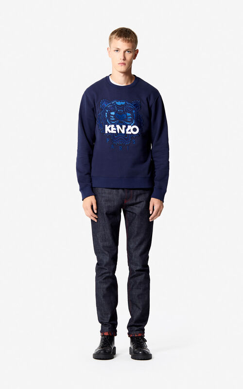 INK Tiger sweatshirt for men KENZO