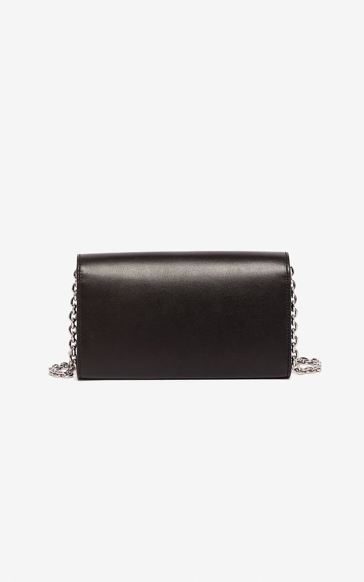 BLACK Kontact wallet on a chain for unisex KENZO