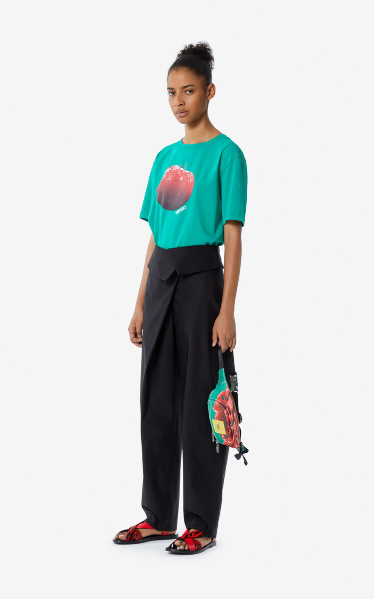 GREEN 'Tomato' T-shirt for women KENZO