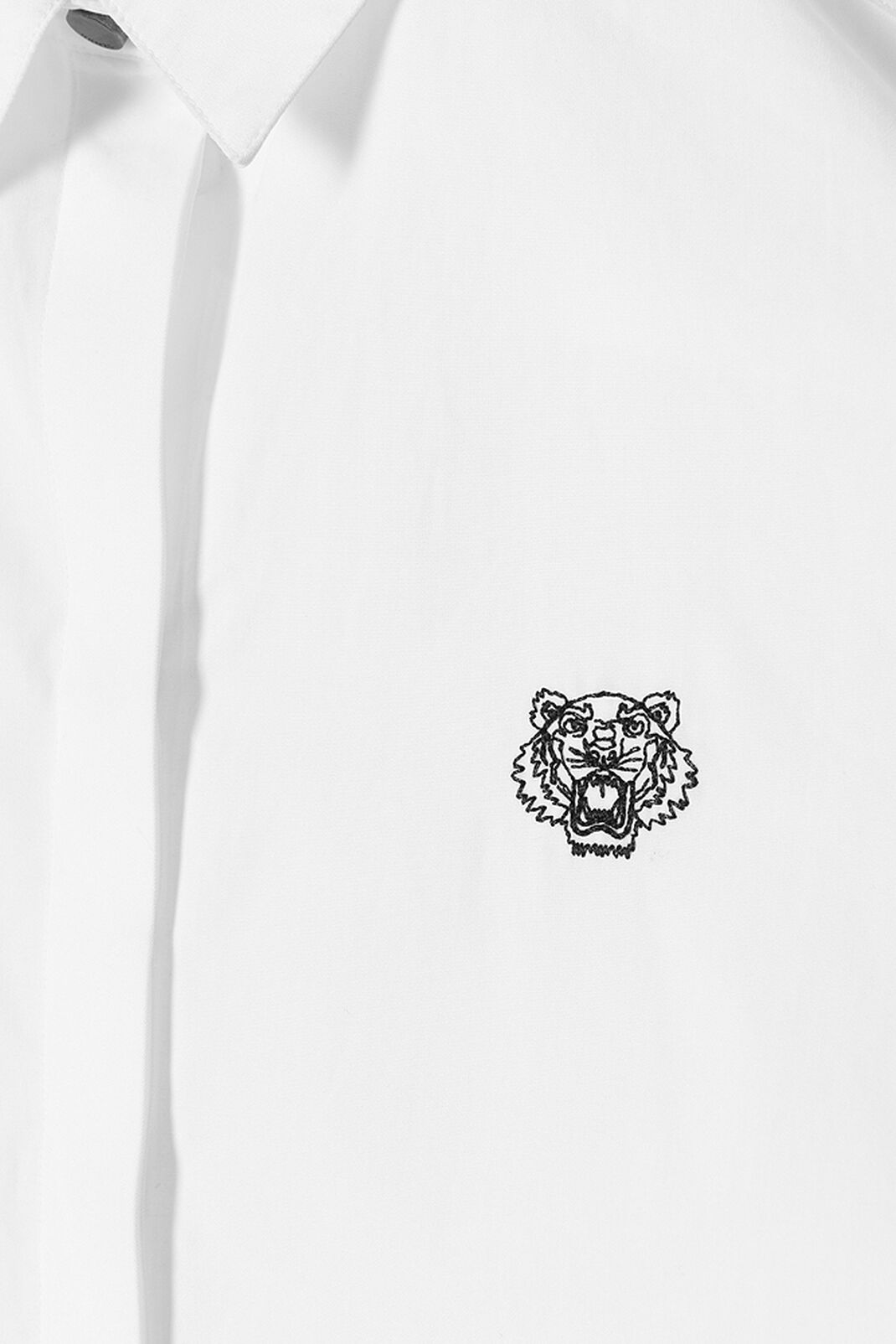 WHITE Tiger Shirt for women KENZO