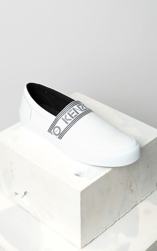 WHITE Kapri slip-on for men KENZO