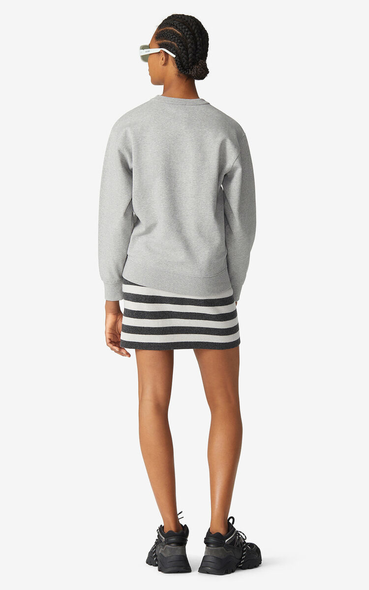 PEARL GREY KENZO Logo sweatshirt    for women