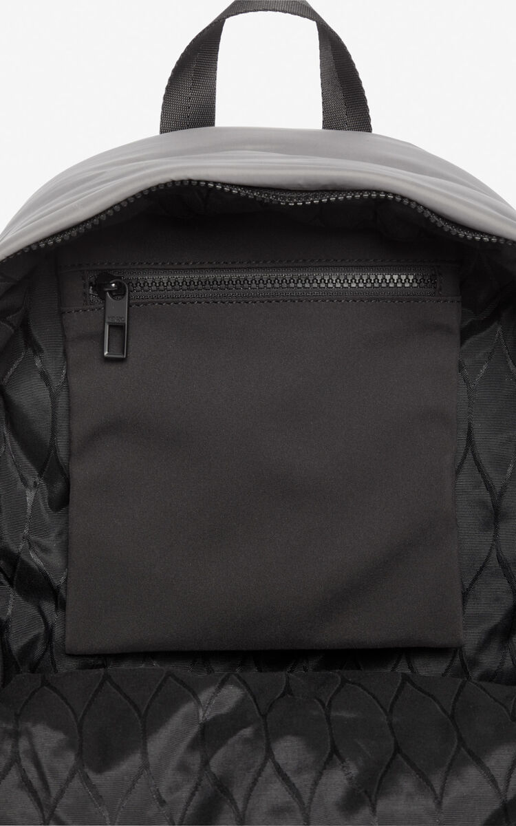 ANTHRACITE Large 'Capsule Expedition' Tiger backpack for unisex KENZO