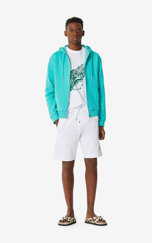MINT 'High Summer Capsule Collection' zipped Tiger sweatshirt for men KENZO