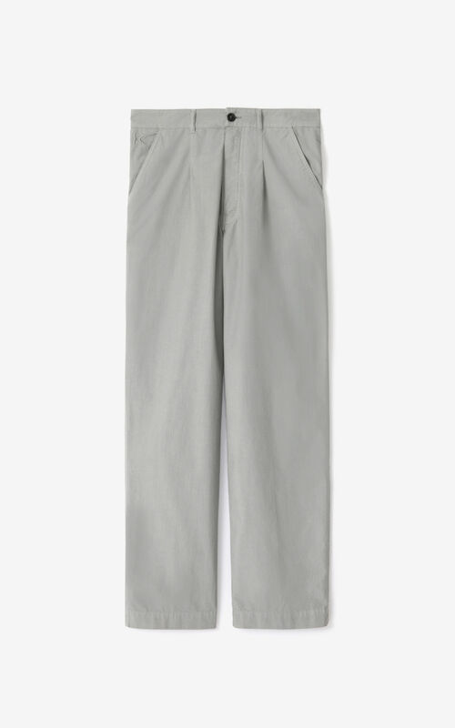 MISTY GREY Chino trousers  for unisex KENZO