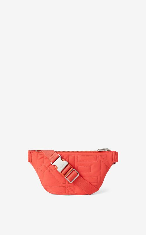 RED ORANGE Arctic belt bag for unisex KENZO