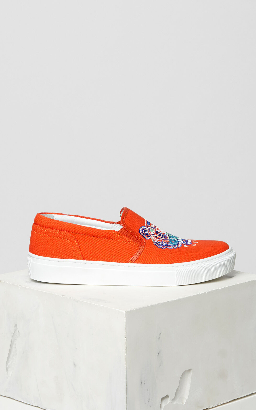 MEDIUM RED Tiger slip-on for women KENZO