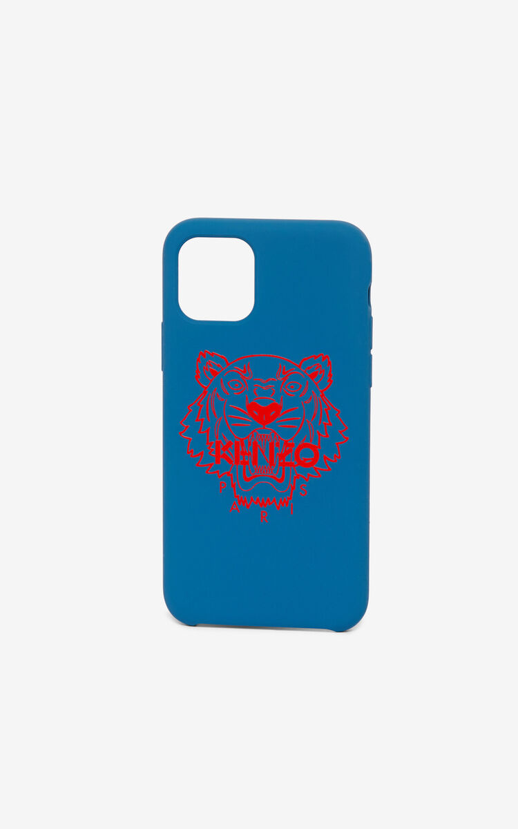 ROYAL BLUE Tiger iPhone XI Pro case for unisex KENZO