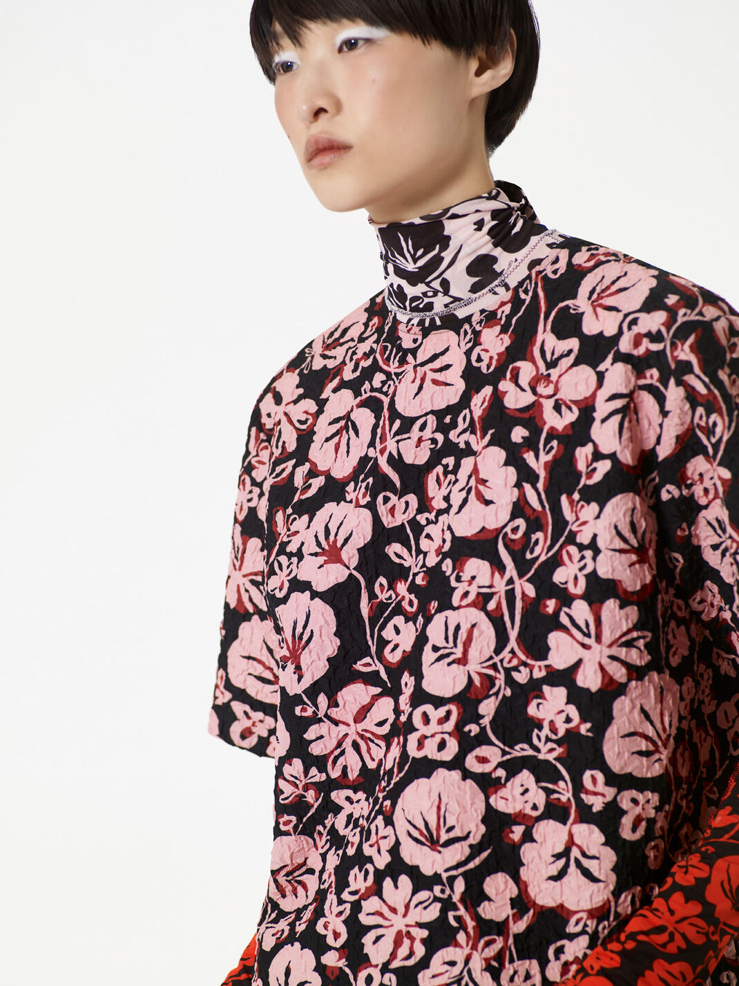 FADED PINK Floral Leaf' Top for women KENZO