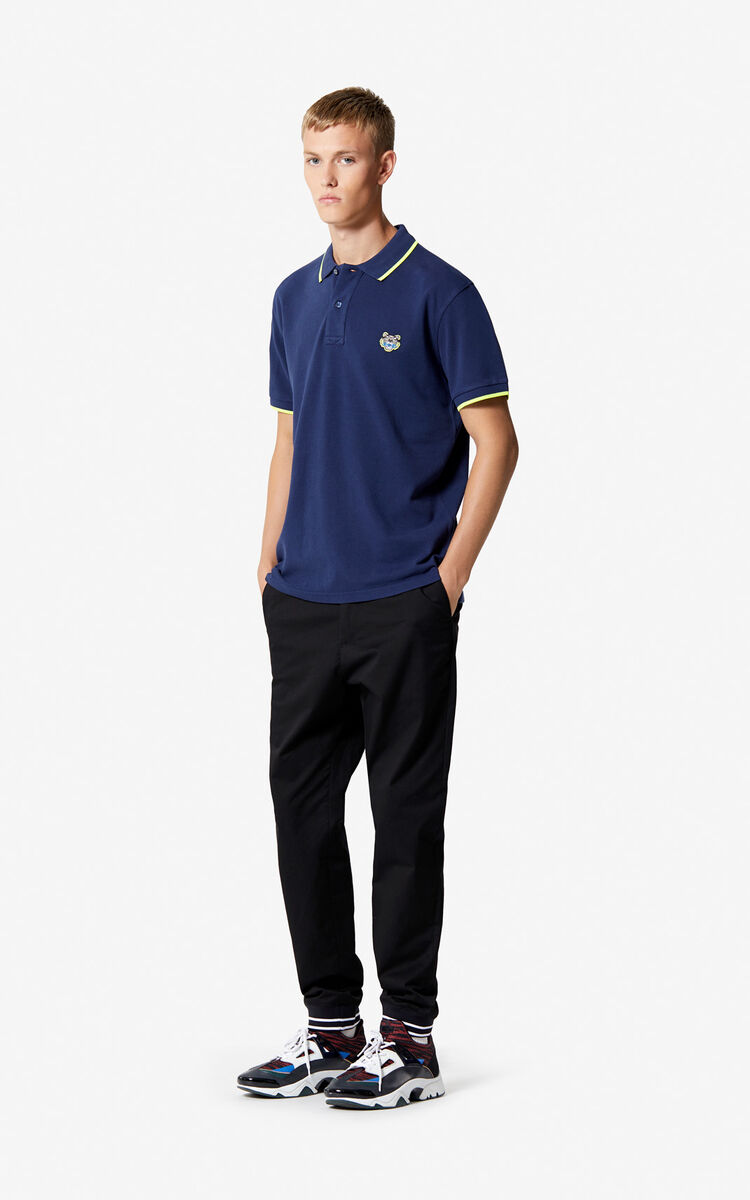 INK Regular fit Tiger Polo shirt for men KENZO
