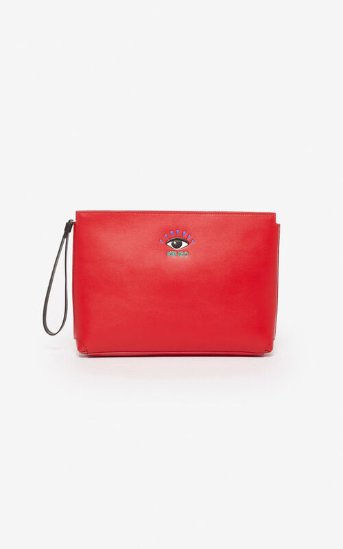CHERRY Gusset Clutch Eye for unisex KENZO