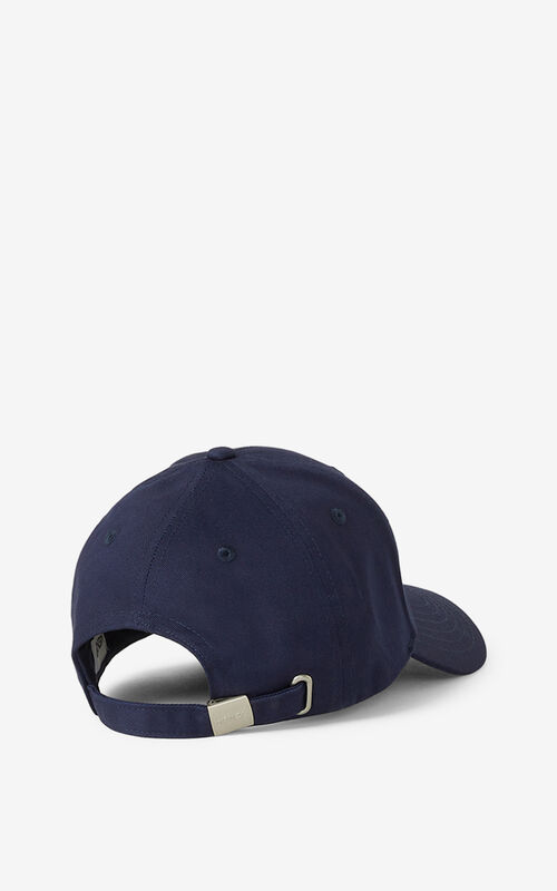 NAVY BLUE KENZO K cap for men