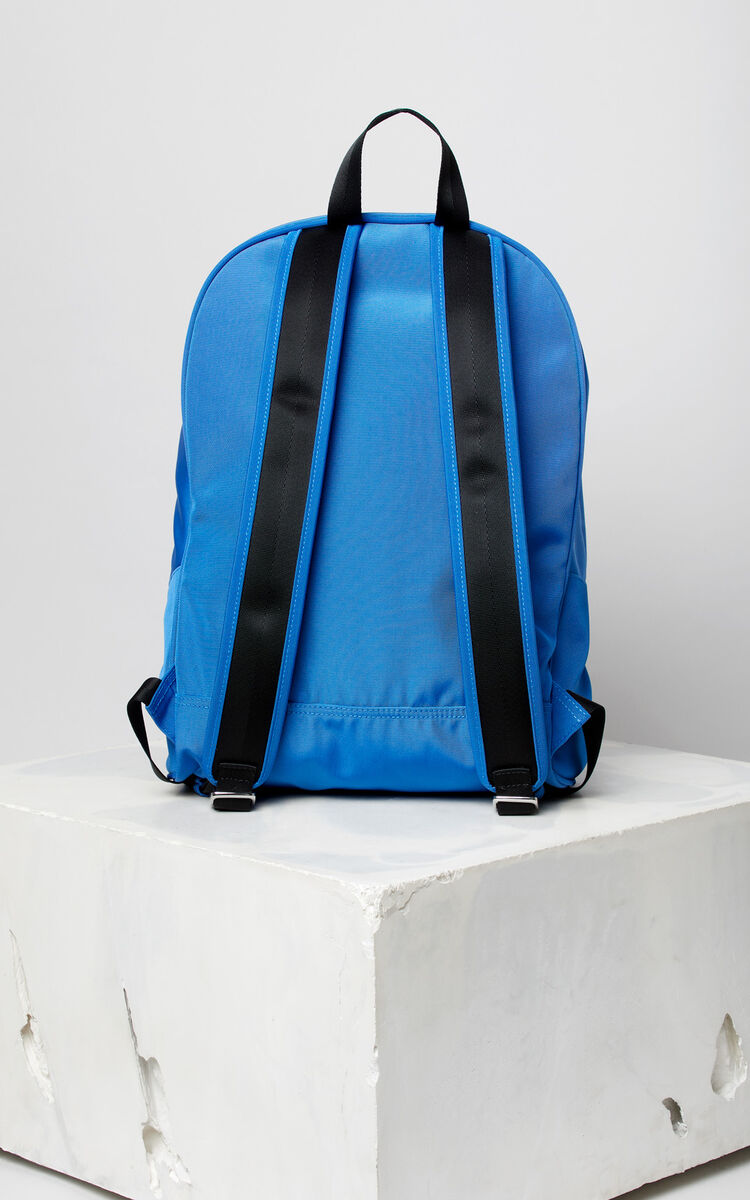 FRENCH BLUE Large Tiger Canvas backpack for unisex KENZO