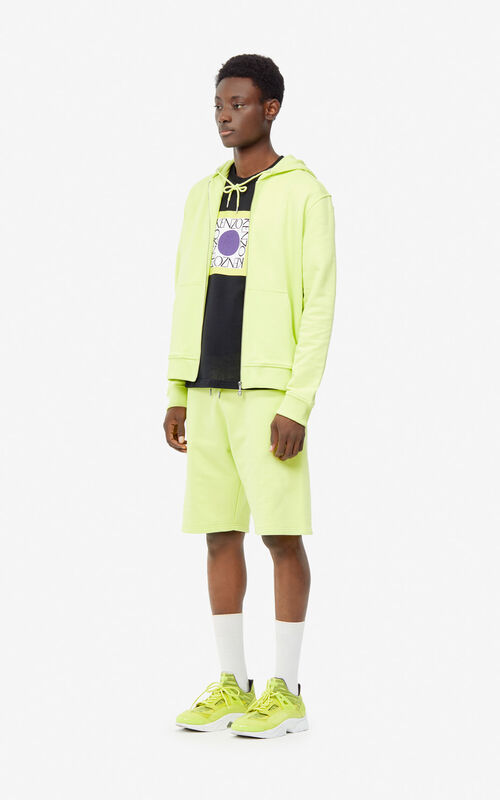 LEMON KENZO Logo hoodie for men