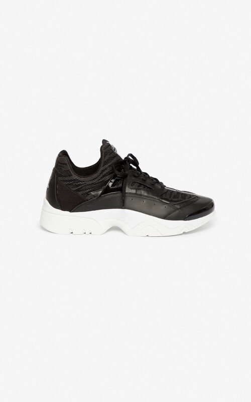BLACK Sonic sneakers for men KENZO