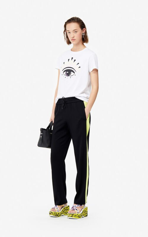 BLACK Fluid trousers for women KENZO