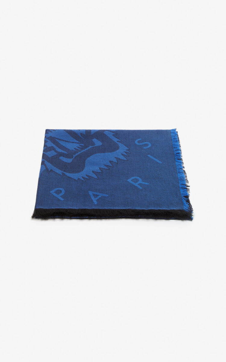 586a48bd4e Large two-tone Tiger scarf for ACCESSORIES Kenzo | Kenzo.com