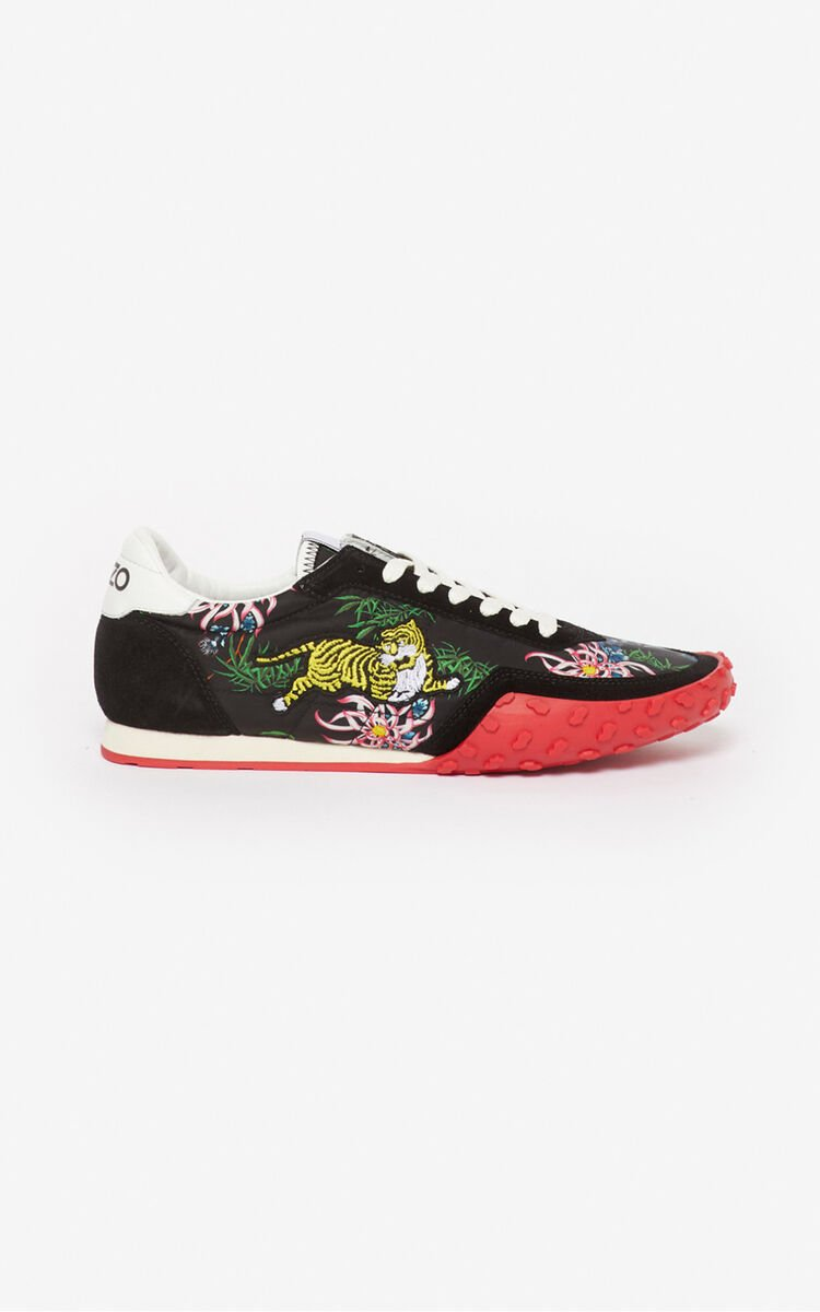 BLACK 'Sea Lily' KENZO MOVE sneakers for women
