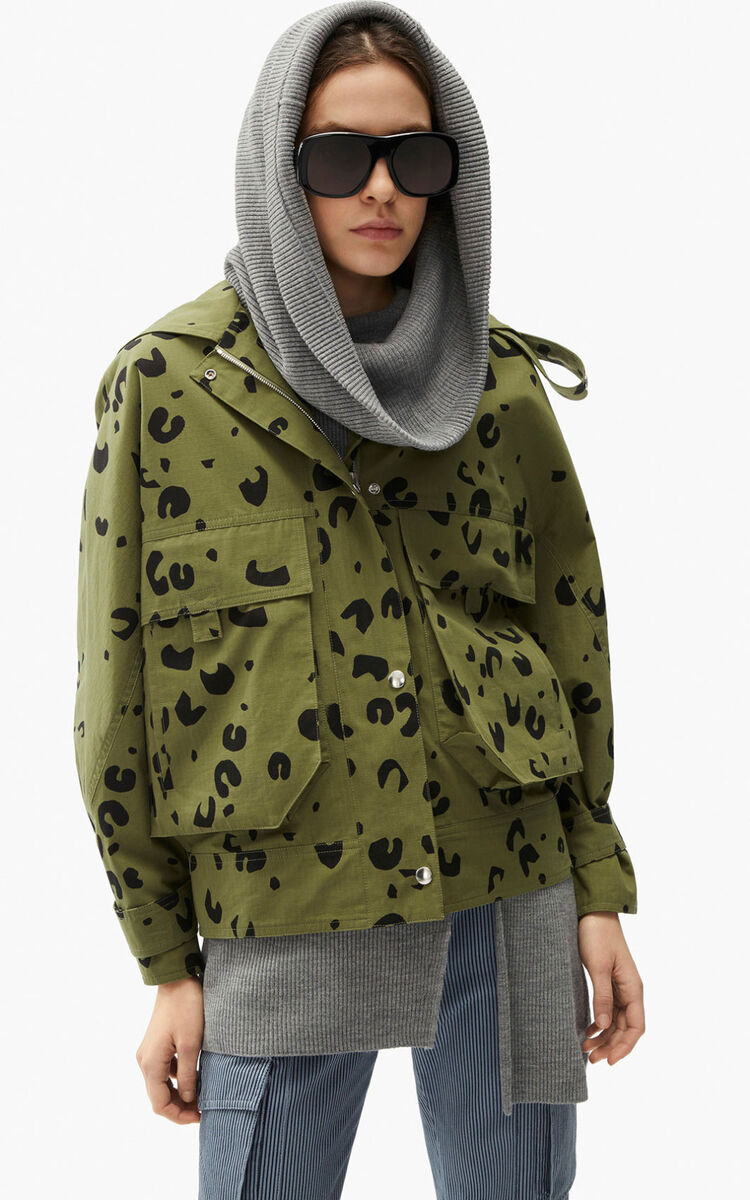 OLIVE Printed blouson for men KENZO