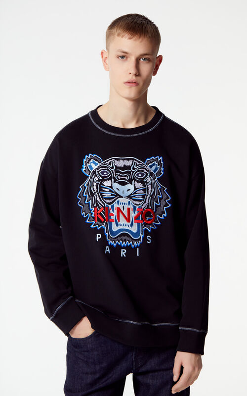 41f453fe3ff0a9 Sweatshirts for Men - The Tiger | KENZO.com