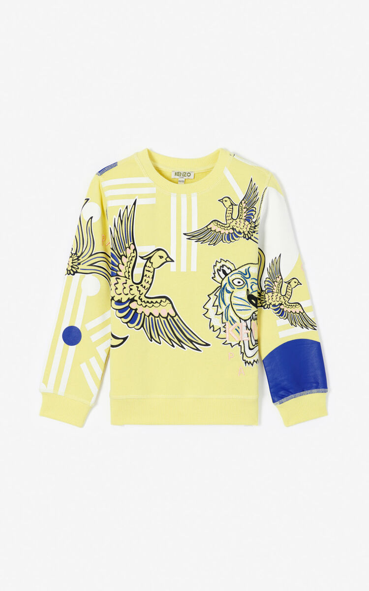 LEMON 'Phoenix Celebration' Multi-icon sweatshirt for men KENZO
