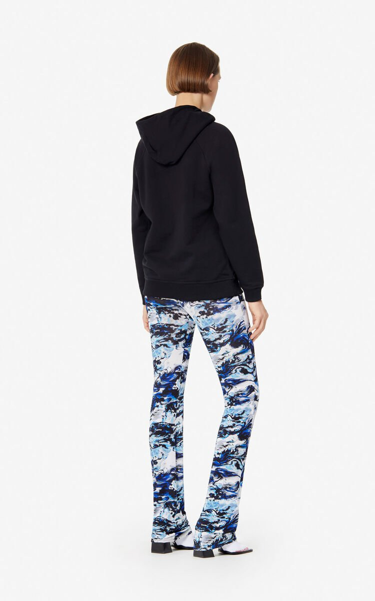 BLACK KENZO Paris hoody for women