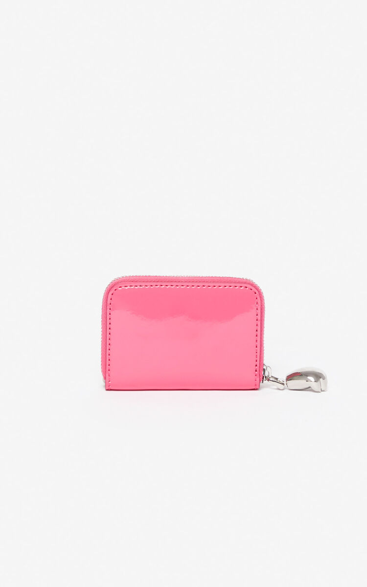 DEEP FUSCHIA Tiger coin purse for women KENZO