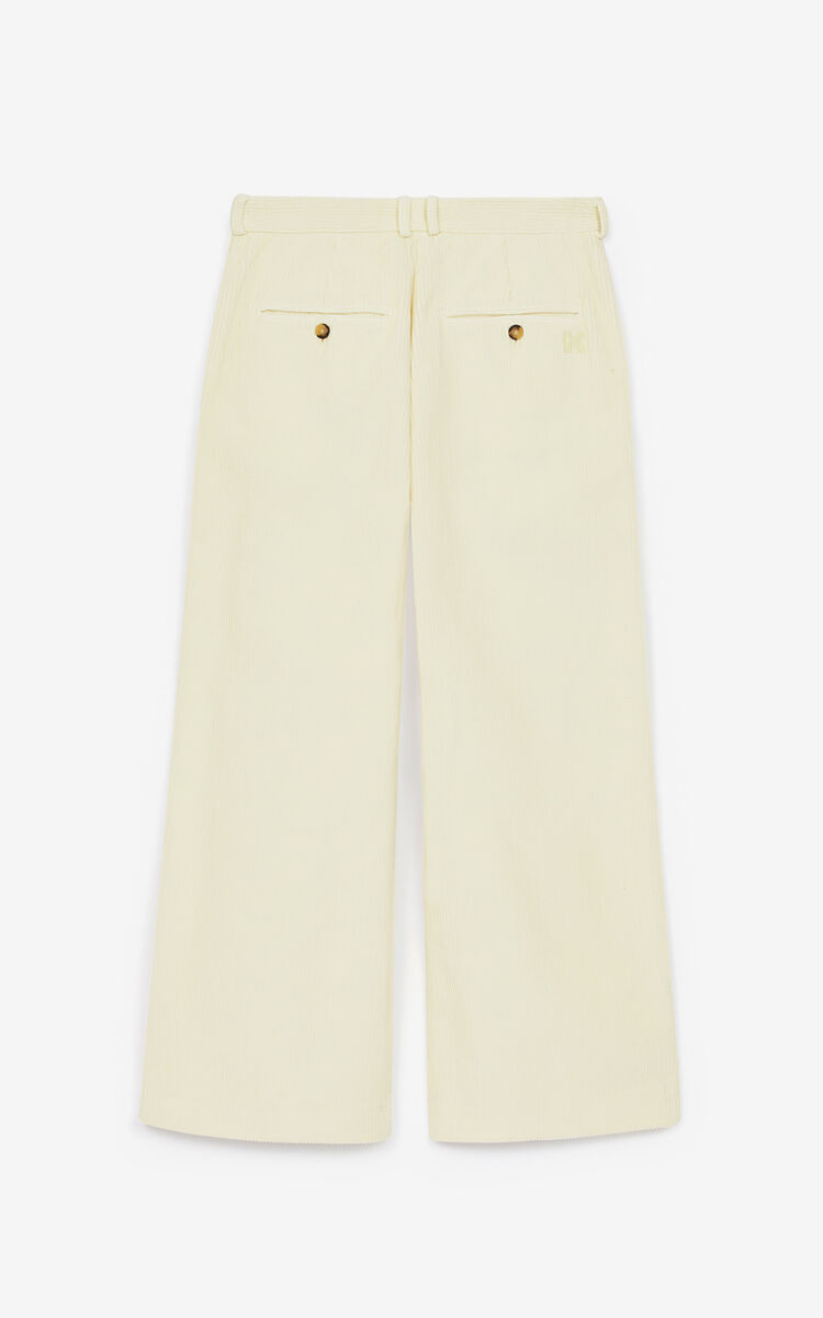 PUTTY Flared corduroy trousers for women KENZO