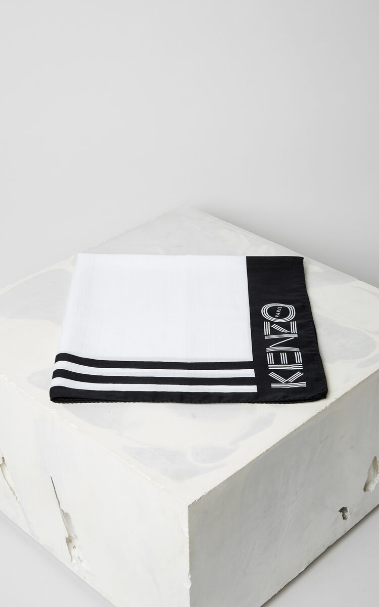 d96a827123 KENZO Logo scarf for SUMMER OUTLET Kenzo | Kenzo.com